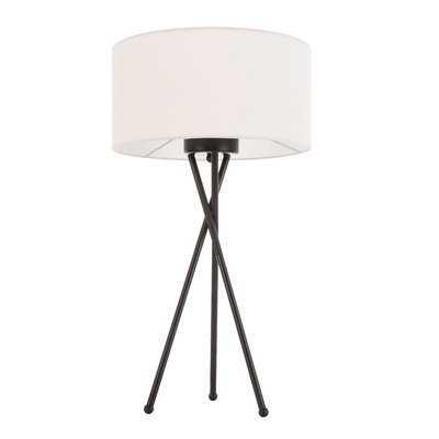 "Wisniewski 22"" Tripod Table Lamp - Wayfair"