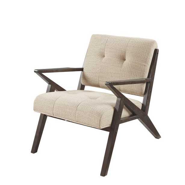 "Fortuna 33.5"" Wide Tufted Polyester Armchair - Wayfair"