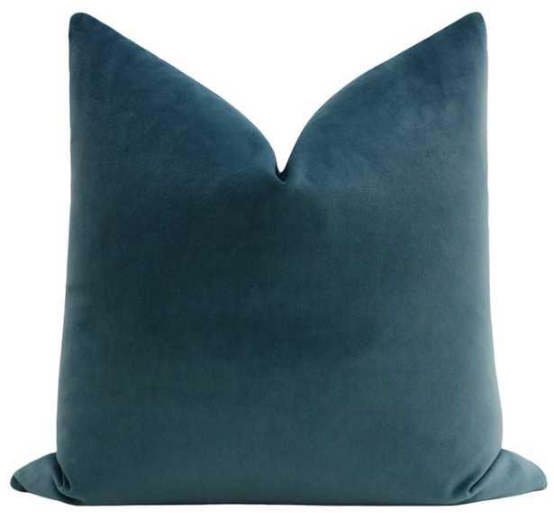 Society Velvet // French Blue - Little Design Company