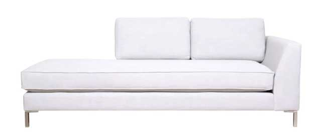 Chaffin Chaise Lounge Campbell Cream, right hand facing - Wayfair