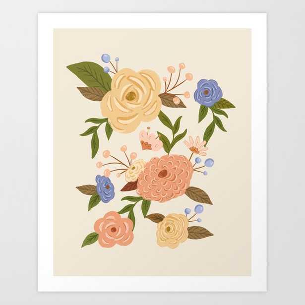 Secret Garden - Buttercream Art Print - Society6