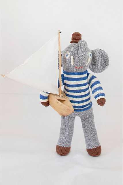 Blabla Kids Rivier the Elephant Doll - Anthropologie
