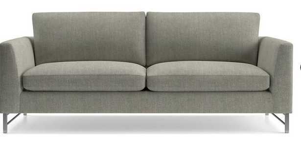 Tyson Sofa with Stainless Steel Base - Crate and Barrel