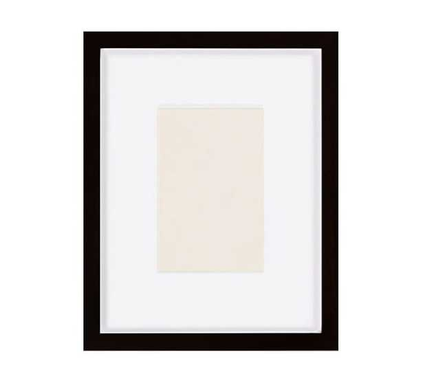 """Wood Gallery Single Opening 5"""" x 7"""" (11"""" x 13"""" Without Mat) - Pottery Barn"""