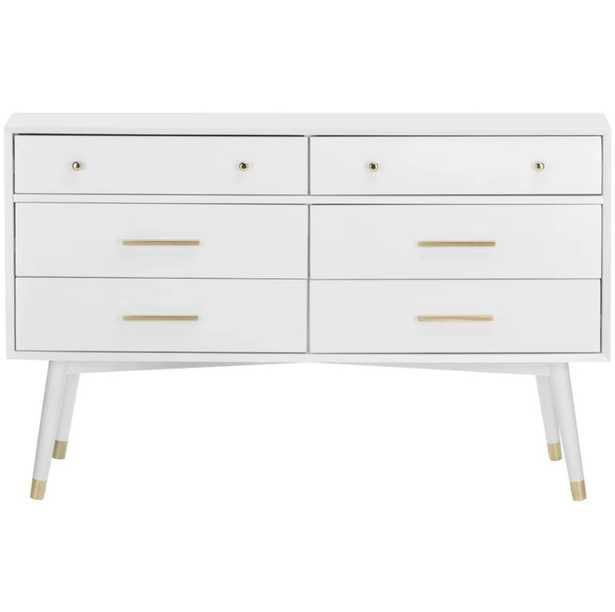 Hope 6 Drawer Double Dresser - AllModern