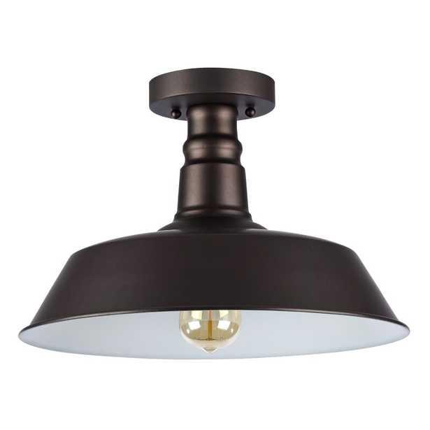 Bouvet 1-Light Semi Flush Mount - Wayfair