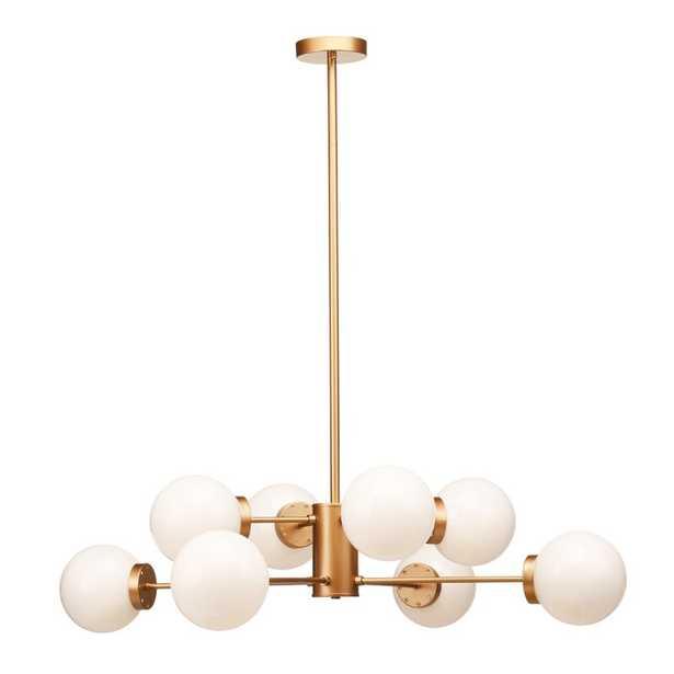 Brice 8 - Light Unique / Statement Globe Chandelier - AllModern