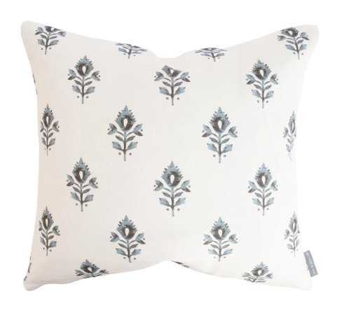 ADDISON BLOCK PRINT PILLOW COVER - McGee & Co.