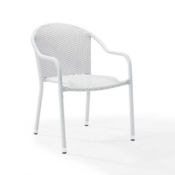 Belton Stacking Patio Dining Chair (Set of 4) - Wayfair