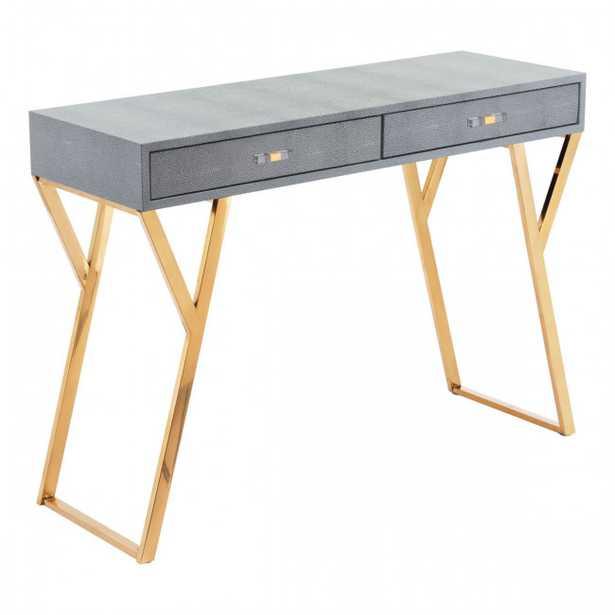 Asti Console Table Gray - Zuri Studios