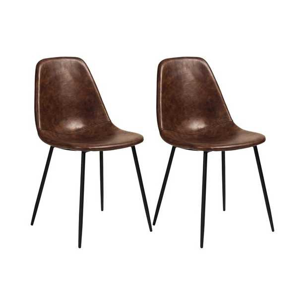 Connor Upholstered Dining Chair (set of 2) - Wayfair