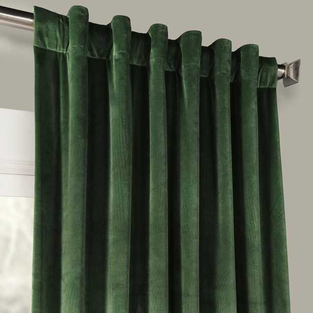Livia Solid Room Darkening Thermal Rod Pocket Curtain Panel - AllModern