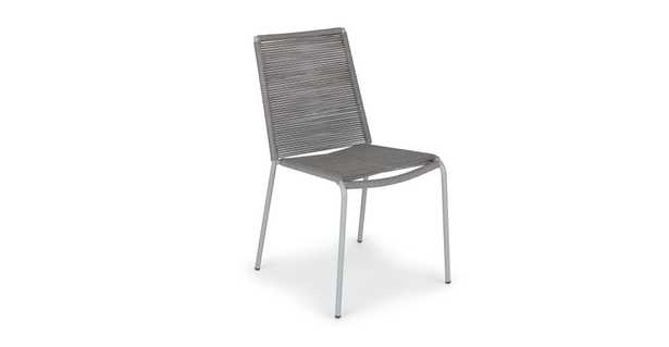 Zina Heathered Gray Dining Chair- set of 2 - Article