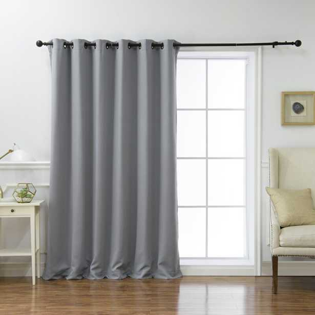 Scarsdale Extra Solid Blackout Thermal Grommet Single Curtain Panel - Wayfair