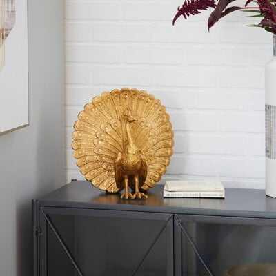 Peacock Sculpture - Wayfair
