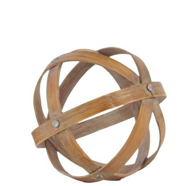 Batts Bamboo Orb Dyson Sphere Sculpture - Wayfair