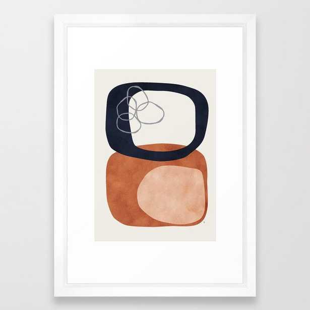 Equinox Framed Art Print by Matadesign - Society6