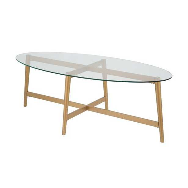 Emma Oval Coffee Table - Wayfair