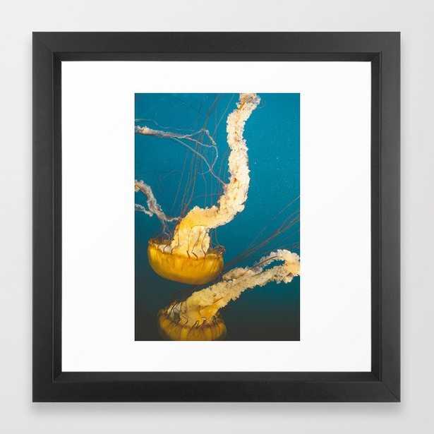 Pacific Sea Nettle Jellyfish I Framed Art Print - Society6