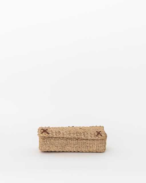 WOVEN GRASS BOX - McGee & Co.
