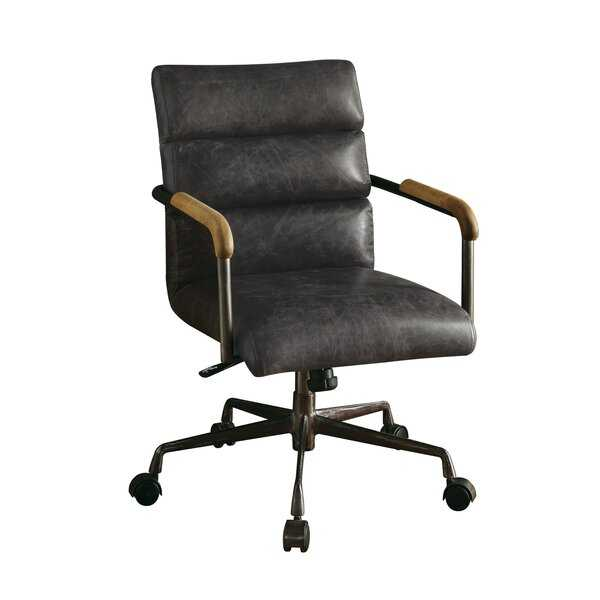 Sophia Genuine Leather Conference Chair - AllModern