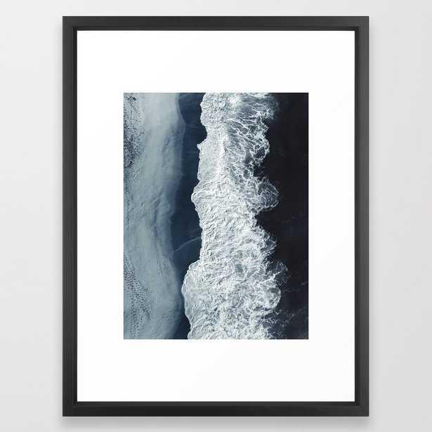 Deep Blue Framed Art Print - Society6