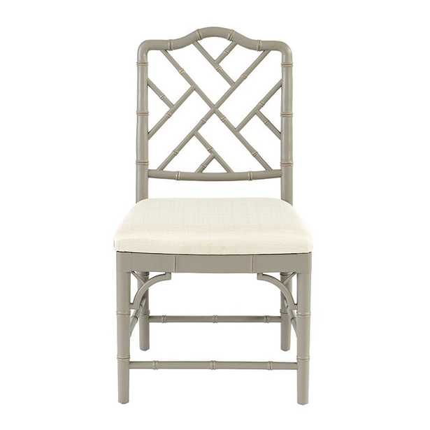 Dayna Side Chairs - Set of 2 - Warm Gray - Ballard Designs