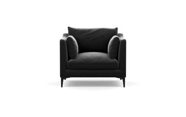 Caitlin by The Evergirl - Armchair - Narwhal Velvet - Interior Define