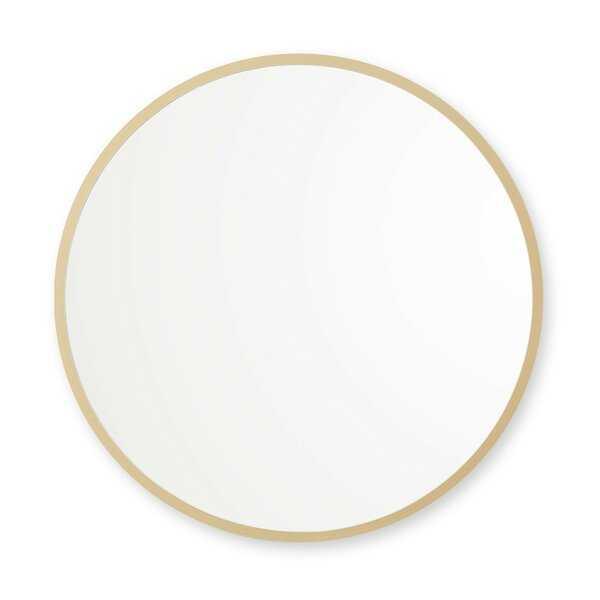 "Clique Modern and Contemporary Accent Mirror - 18"" - Wayfair"