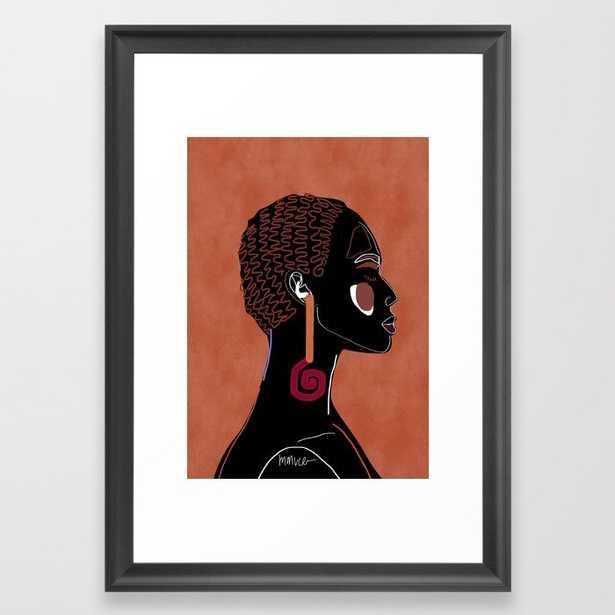 Yiani Framed Art Print - Society6
