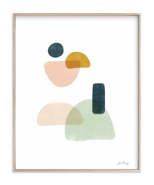 "balance no.3 - 16""x20"" w/ Artist Signature - Minted"