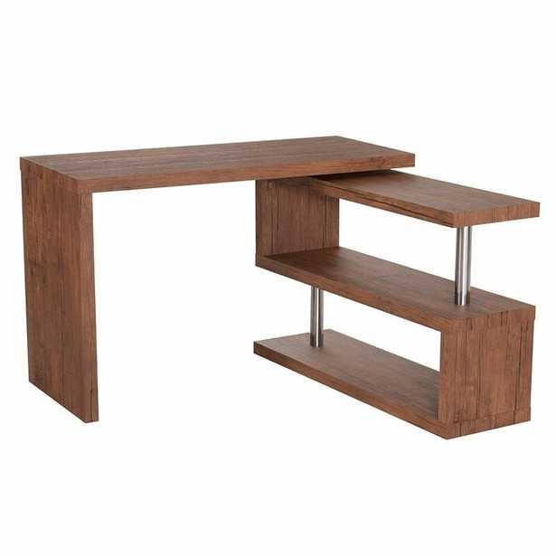 Gamache L-Shape Writing Desk - Wayfair