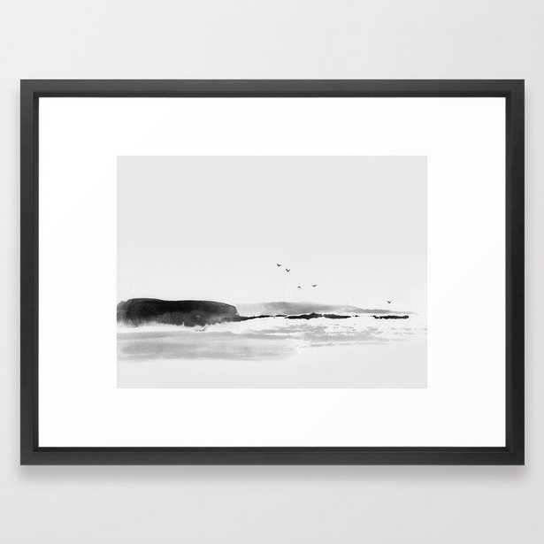 Sea Rock Framed Art Print - Society6