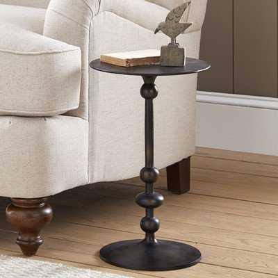 Black Pedestal End Table - Wayfair