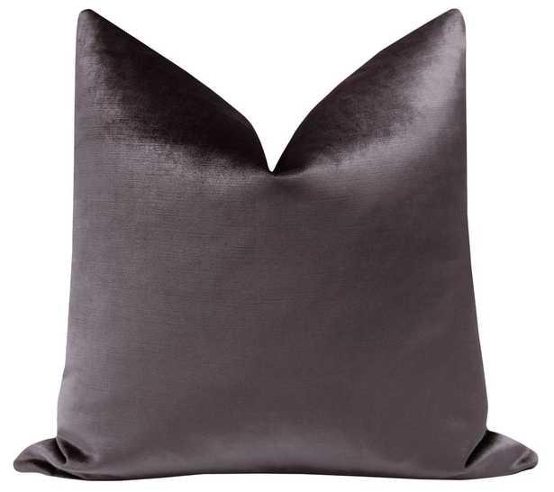 Faux Silk Velvet // Smokey Amethyst - Little Design Company