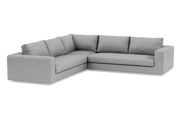 WALTERS Corner Sectional Sofa with Bench Cushion - Interior Define