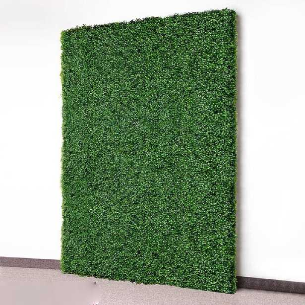 2 ft. H x 2 ft. W Artificial Wall Hedge Privacy Screen (set of 4) - Wayfair