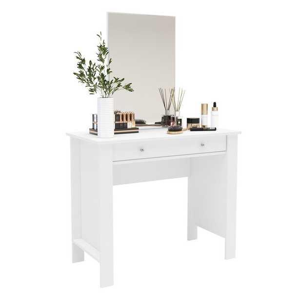 Van Andel Vanity with Mirror - Wayfair