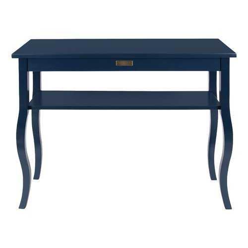 Sunbury Wood Console Table - Navy - Wayfair