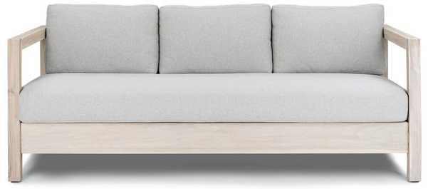 Arca Sunwash Gray Sofa - Article