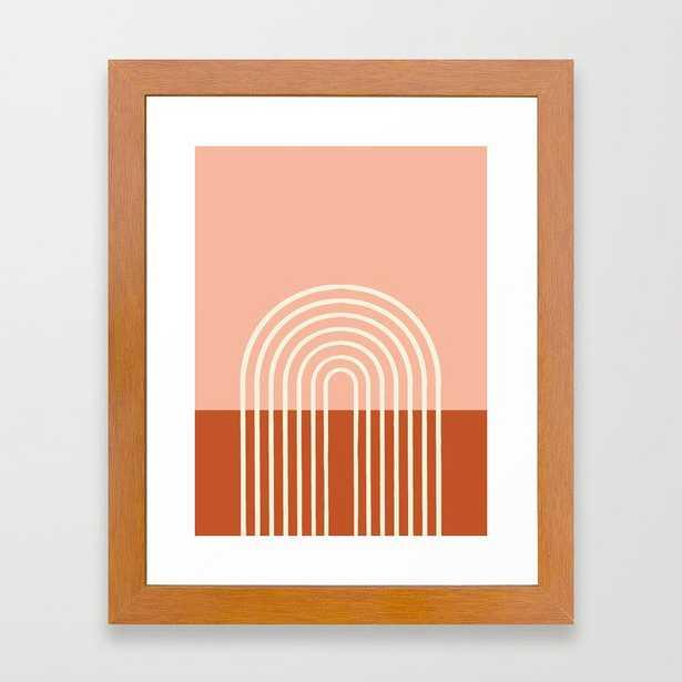 Terracota Pastel Framed Art Print - Society6
