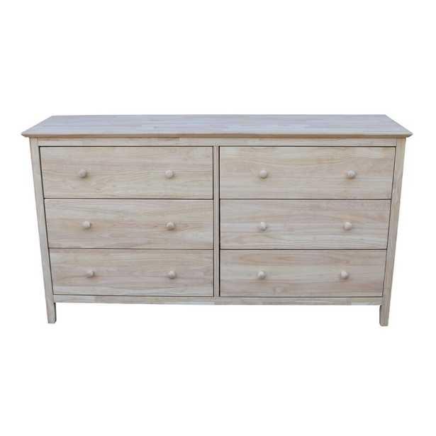 Dufrene 6 Drawer Double Dresser - Wayfair