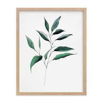 "Magnolia Foliage, Full Bleed 11""x14"", Natural Wood Frame - West Elm"