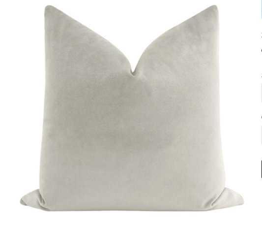 Society Velvet // Dove Grey - Little Design Company