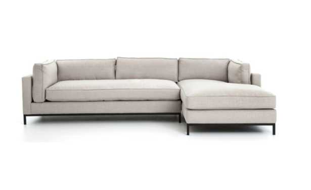 FRITZIE SECTIONAL, NATURAL (Right-Facing) - Lulu and Georgia