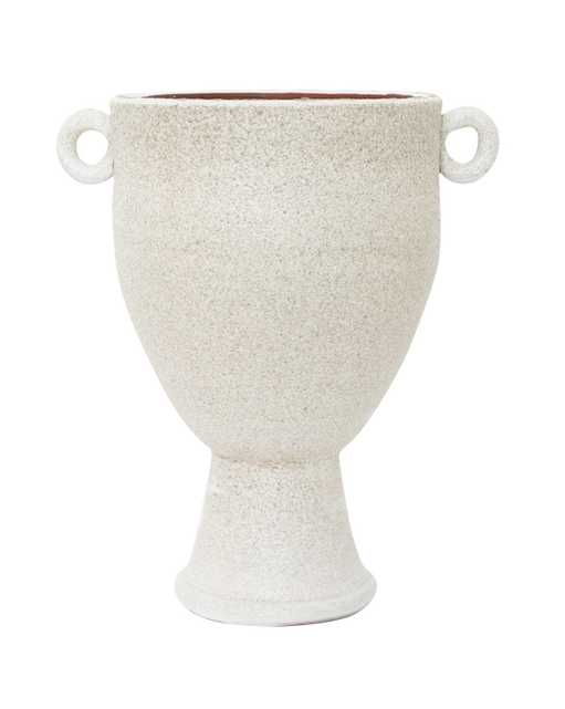 Aged White Urn - McGee & Co.