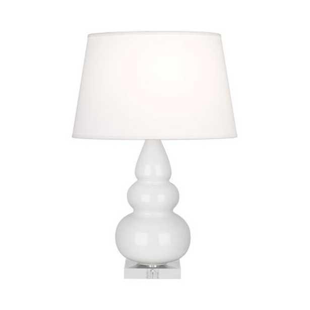 SASSY CERAMIC TABLE LAMP - LUCITE BASE - Shades of Light