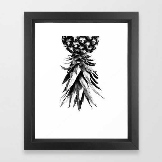 Pineapple Upside Down #1 #tropical #fruit #decor #art #society6 Framed Art Print by Anita's & Bella's Art - Society6