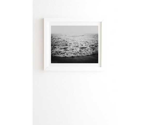 INFINITY White Framed Wall Art - Wander Print Co.
