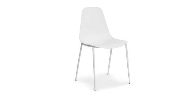 Svelti Pure White Dining Chair - Article